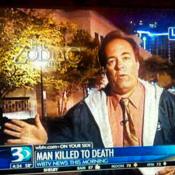 Hard-hitting #news with Captain Obvious on location