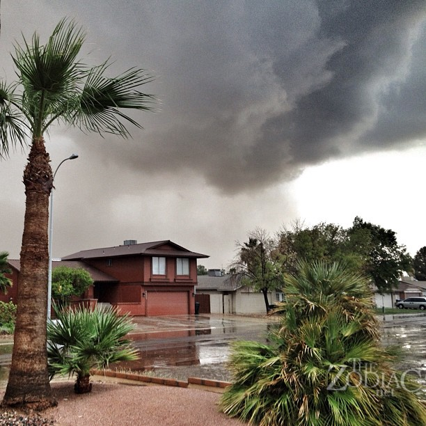 Thunderstorm and Flash Flooding in Phoenix